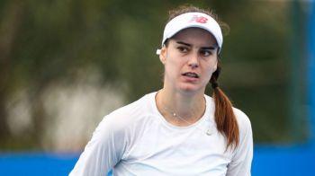 A pierdut in fata locului 651 WTA! Soc total: Sorana Cirstea, eliminata in primul tur al calificarilor de la Doha de o jucatoare anonima