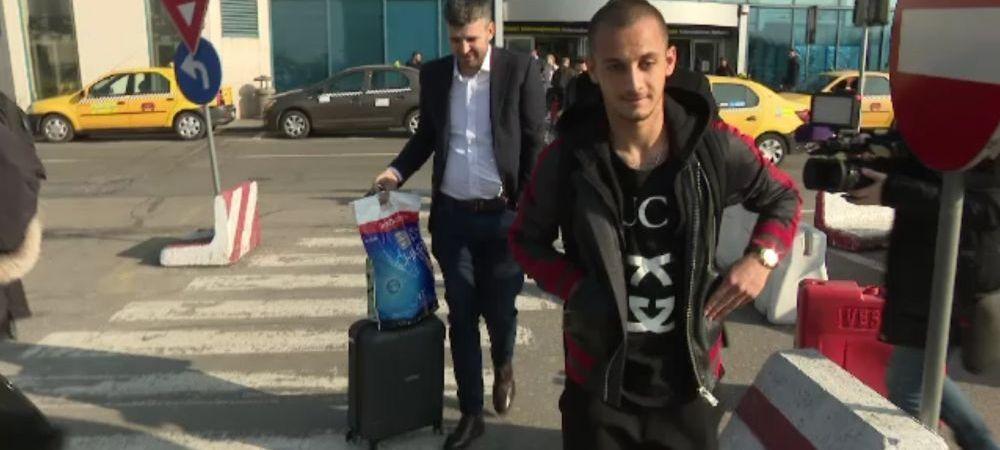 FOTO | Mitrita a revenit in Romania: va fi prezent la Craiova - CFR! Motivul pentru care a refuzat sa vorbeasca despre transferul in America