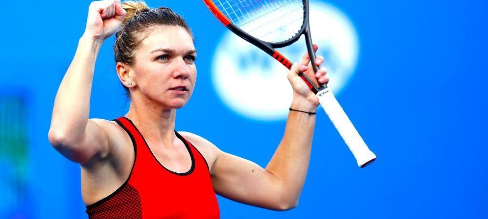 """Simona Halep, prima reactie dupa victoria superba cu Siniakova! """"A fost un meci dificil"""" Ce a spus de fanii romani!"""