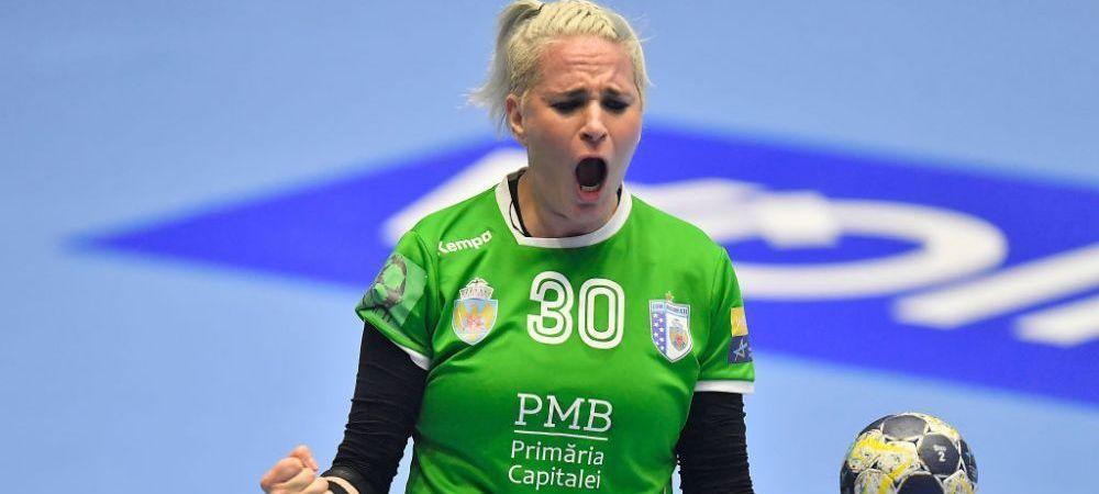 """Spectacol facut de CSM in Liga Campionilor! """"Tigroaicele"""" s-au calificat in sferturi! Victorie impresionanta in Germania!"""