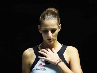 """FED CUP   Reactia Karolinei Pliskova dupa ce a pierdut in fata Simonei Halep: """"E greu de invins! A fost prea mult pentru mine!"""""""