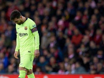 Messi nu e invincibil! CIFRE DEZASTRUOASE pentru starul argentinian in ultimul meci al Barcei din capionat: trei capitole NEGRE