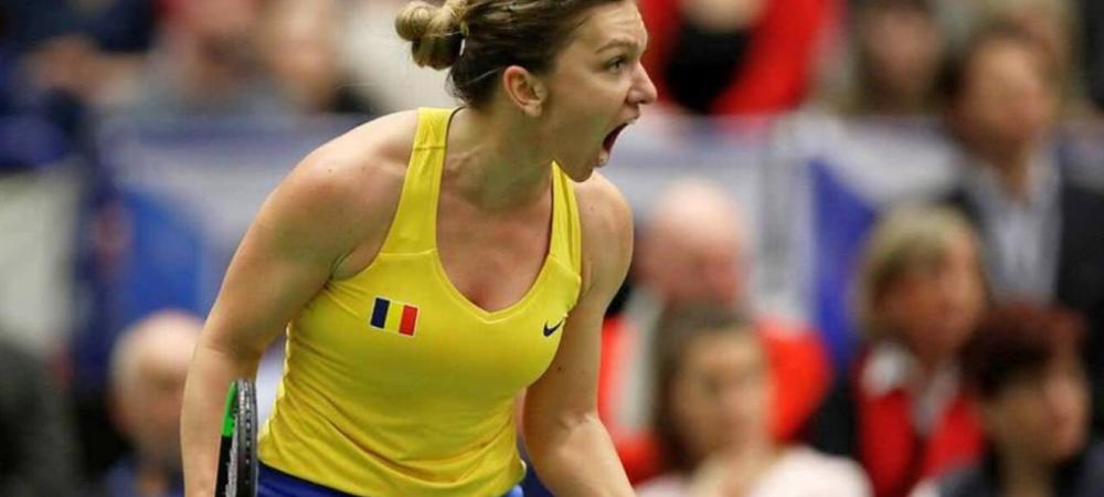"Cat a slabit Simona Halep la Fed Cup! ""Am mancat Nutella pe paine ca sa pun kilogramele inapoi"" Dezvaluirea romancei inainte de primul meci la Doha"