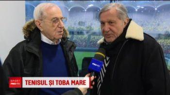 "Ilie Nastase va face galerie romancelor la meciul cu Franta: ""Imi iau toba, dar vreau manusi sa nu fac basici la mana!"" :)"
