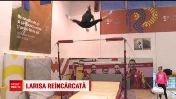 "Spirit de campioana! Dupa 6 operatii si 18 luni de absenta, Larisa Iordache a revenit in sala: ""Fara gimnastica nu-mi vad viata!"""