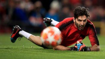 RECORD pentru Buffon! A intrat in TOP 10 jucatori cu cele mai multe prezente in Champions League: e singurul care nu a castigat trofeul