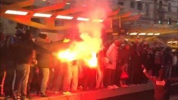 Nebunie pe strazile din Manchester! Fanii lui PSG au facut show total! Ce s-a intamplat pe stadion!