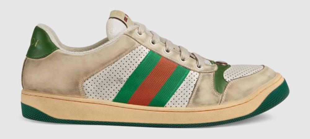 Cu cati bani vinde Gucci adidasii murdari pe care i-ai arunca la gunoi! Provocare: Care e primul fotbalist din Liga I care si-i ia?! :)