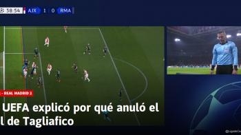 UEFA a explicat motivele pentru care reusita lui Ajax a fost anulata de VAR! Decizie controversata