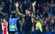 Sergio Ramos, CE GAFA! A recunoscut dupa meciul cu Ajax, apoi si-a schimbat imediat declaratia! Risca o noua SUSPENDARE