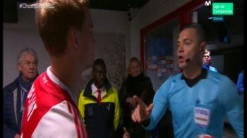AJAX - REAL 1-2 | Moment halucinant inainte de meci! Ce l-a intrebat capitanul lui Ajax pe arbitru pe culoar