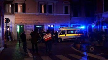 SANGE la Roma inaintea meciului! 4 oameni au ajuns la spital injunghiati! Scene teribile inainte de Lazio - Sevilla