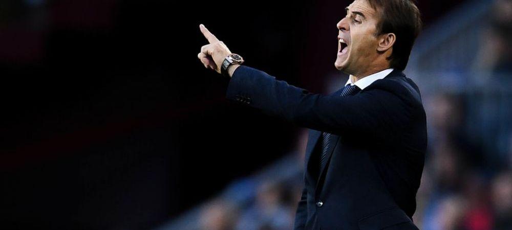 Lopetegui rupe tacerea dupa plecarea de la Real Madrid! Ce spune despre Solari si unde vrea sa antreneze