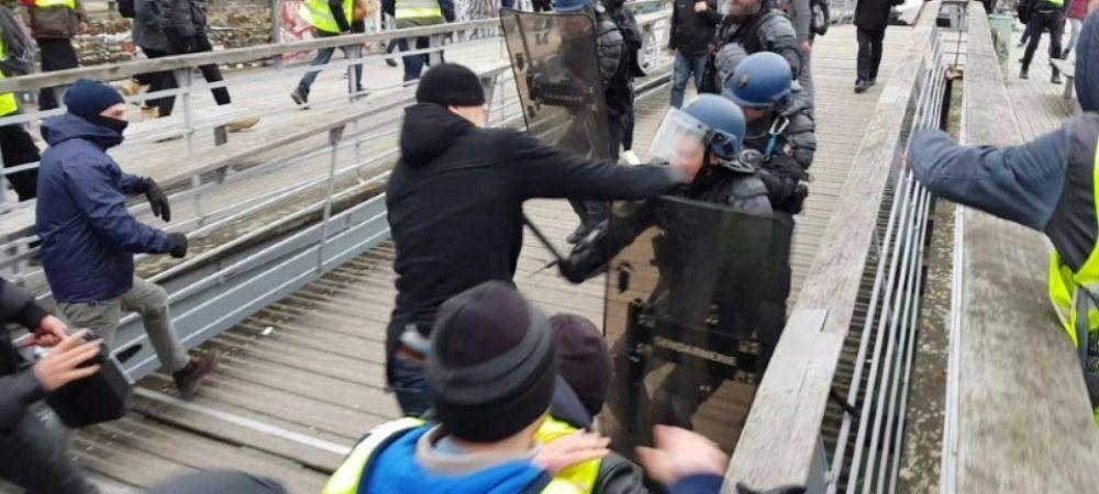 Ce pedeapsa a primit fostul campion la box care a lovit cu pumnul un jandarm, in timpul protestelor din Franta