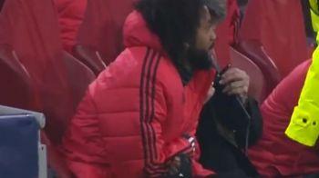VIDEO | Reactia bancii Realului la golul anulat pentru Ajax: Marcelo a fost in centrul atentiei! Ce a strigat de pe margine inainte de decizia arbitrului
