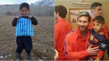 """Intalnirea cu Messi i-a distrus viata! Cosmarul pustiului afgan care l-a impresionat pe starul Barcelonei dupa o fotografie virala: """"Imi doresc sa nu-l fi cunoscut niciodata"""""""