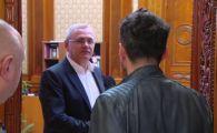 """Presedintele PSD Liviu Dragnea, catre Alex Dima: """"Vii cu mine in baie?"""""""