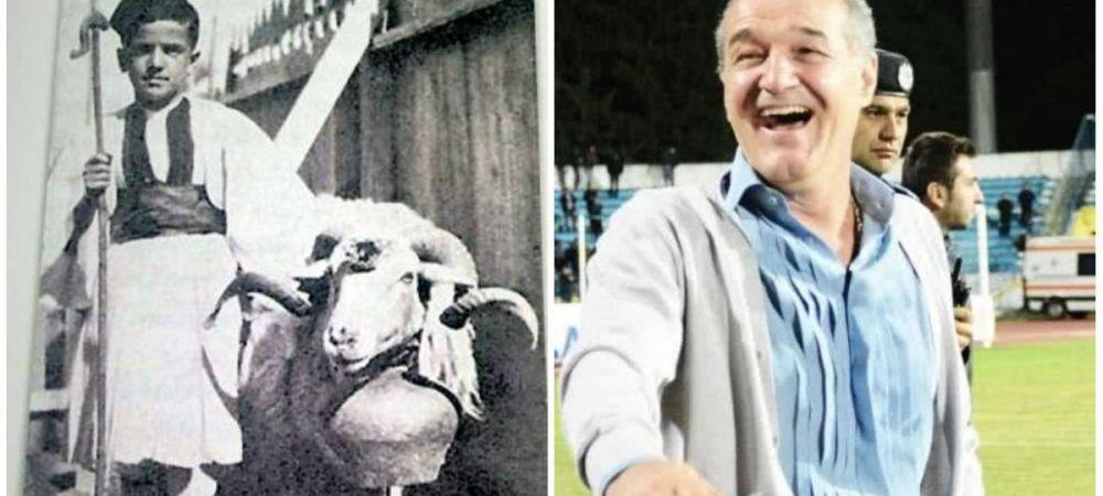 Povestea mai putin stiuta a copilariei lui Gigi Becali: s-a nascut in lagar si a crescut la cort!