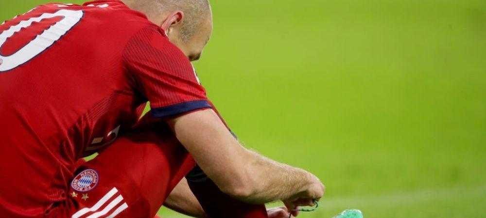 """Cariera INCHEIATA pentru Robben la Bayern? Anunt SOC al jucatorului: """"Nu stiu ce mi se intampla!"""""""