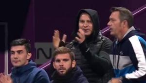 SIMONA HALEP IN FINALA LA DOHA | Noul antrenor al Simonei, trup si suflet in tribune! Ce a strigat Van Cleemput in timpul semifinalei cu Svitolina