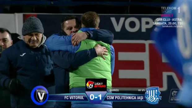 """VIITORUL - POLI IASI 0-1   Final nebun de sezon! Reactia lui Stoican dupa ce Iasi a ajuns pe loc de play-off: """"E posibil absolut orice!"""""""