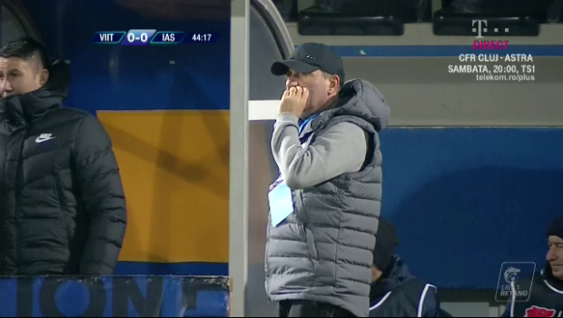 VIITORUL - POLI IASI 0-1 | Reactia neasteptata a lui Hagi dupa al 6-lea meci fara gol marcat:  Jucam bine, avem ocazii!  Ce a spus despre eliminarea lui Dragus