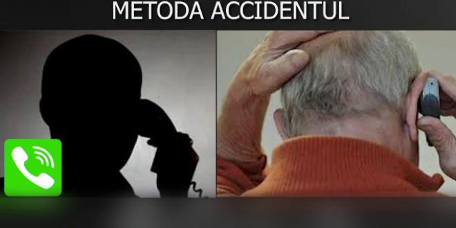 Momentul in care un pensionar din Braila a realizat ca e pacalit. Cum s-a dat de gol escrocul. VIDEO