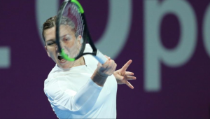 SIMONA HALEP - MERTENS | Gestul ingrijorator al Simonei dupa ce a pierdut finala de la Doha! Ce a facut imediat dupa ultima minge