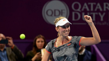 "HALEP - MERTENS DOHA | Elise Mertens se inclina in fata Simonei Halep! ""E o imensa jucatoare"" Ce a spus belgianca dupa ce i-a luat titlul romancei la Doha"