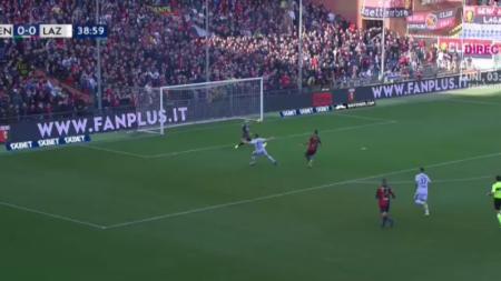 Radu e un MUNTE!!! A scos de doua ori in situatie de 1 contra 1 in fata lui Lazio! Momente de MAGIE in poarta pentru capitanul U21