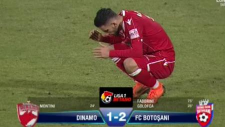 DINAMO 1-2 BOTOSANI | RIP PLAY-OFF la Dinamo! Fabbrini, profesorul de DEPRESIE pentru  caini ! AICI ai fazele meciului