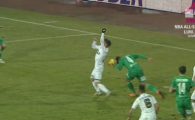 """SCANDALOS! Penalty clar refuzat de Istvan Kovacs pentru Gaz Metan. Adrian Rus a fost intrebat daca a dat cu mana in minge: """"Nu stiu, nu pot sa comentez"""" :))"""