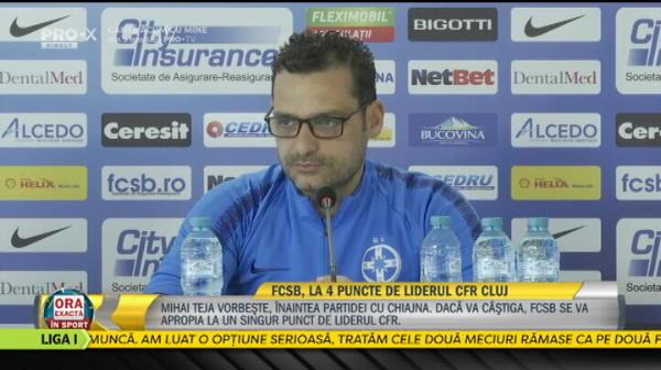 "Teja a dezvaluit cea mai mare problema a sa la FCSB: ""Este foarte greu, n-am ce sa fac!"" Declaratia data inainte de meciul de luni"