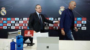 Zidane isi negociaza LA SANGE noul contract: lista cu care s-a prezentat la negocieri! LOVITURA URIASA pentru Real: cum isi 'distruge' fosta echipa