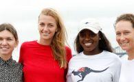"Raspuns amuzant al Petrei Kvitova cand a fost intrebata de Simona Halep: ""Nu am castigat niciun Grand Slam si mi-am pastrat antrenorul!"""