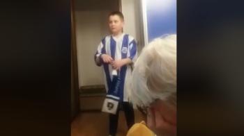 """""""Poli Iasu' a dat gol, uaaaaa!"""" Clipul saptamanii! Cum s-a bucurat un pusti din Iasi dupa golul care o lanseaza pe Poli spre play-off"""
