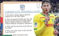 Cardiff a sesizat POLITIA in cazul Emiliano Sala! Cele 10 intrebari care scot la iveala partea NEAGRA a fotbalului. Ce raspunsuri asteapta galezii