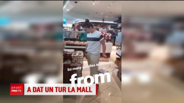 Ce surpriza i-au facut arabii Simonei inainte de primul meci! Imaginile inedite surprise la Dubai