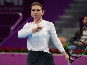 SIMONA HALEP - EUGENIE BOUCHARD 7-6(4) 6-4   VICTORIEEE! Simona Halep se califica in optimi la Dubai