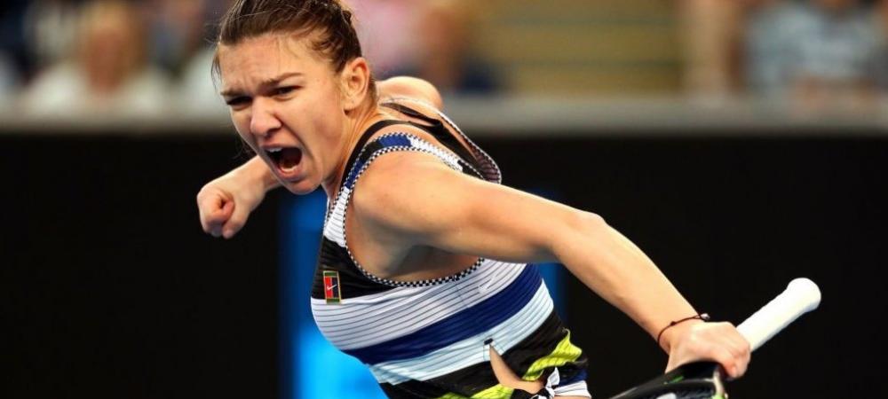 "HALEP - BOUCHARD DUBAI | ""Tenis ireal din partea romancei!"" Lovitura FABULOASA reusita de Simona i-a uimit pe toti. Reactia WTA"