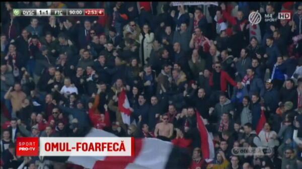 VIDEO | Un pusti roman a reusit golul campionatului in Ungaria! Comentatorii maghiari au innebunit