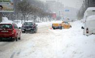 Joi, iarna revine în forta în Romania. Zonele cu ninsori si temperaturi de -20 de grade