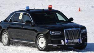 VIDEO Soferii si masinile lui Putin, curse pe zapada