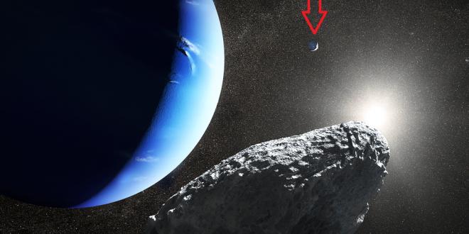 Ce este obiectul observat langa planeta Neptun? Astronomii spun ca nu ar trebui sa existe!