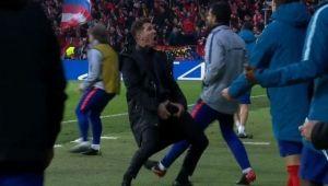 Probleme pentru Atletico? FOTO | Gestul facut de Simeone care i-ar putea aduce suspendarea pentru returul de la Torino!