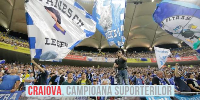 Oltenii vor sa aduca 10.000 de suporteri pe National Arena! Craiova, cea mai sustinuta echipa din Liga 1, FCSB a picat pe 2. Top 5