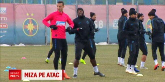 Cei doi jucatori pe care pariaza stelistii la derby-ul cu Craiova:  Este numarul 1 la FCSB!  Dezvaluiri despre situatia lui Stoian