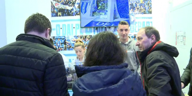 10.000 e cam mult!  Cati fani olteni spera jucatorii Craiovei sa vina la derby-ul cu FCSB