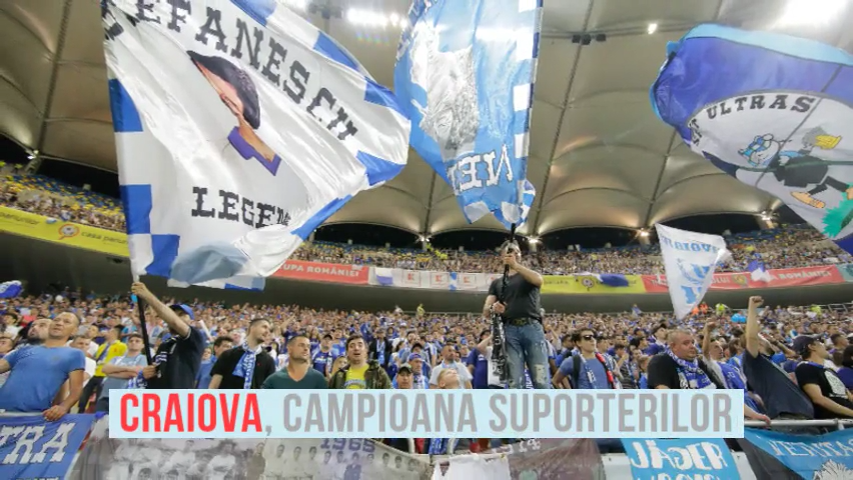 Craiova conduce detasat topul spectatorilor din Liga 1, FCSB pe 2! Cum arata top 5 suporteri in Romania