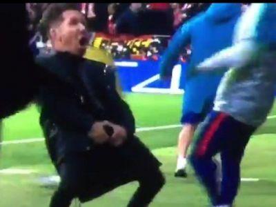 """""""Eu nu l-am invatat sa faca asa ceva!"""" Simeone, CERTAT public de tatal sau pentru gesturile facute la meciul cu Juventus. FOTO"""